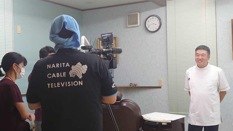 成田ケーブルテレビの取材